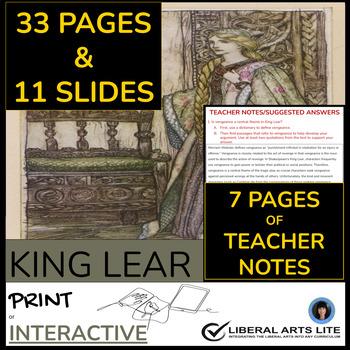 King lear ap essay questions