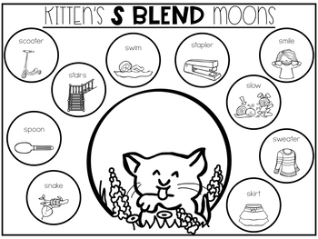 Kitten's First Full Moon: No Prep Speech & Language
