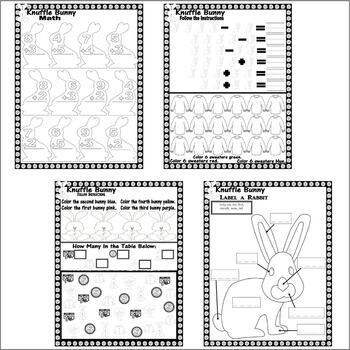Knuffle Bunny : Book Companion Reading Comprehension