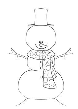 LOST SNOWMAN- A Winter Theme Creative Writing Bulletin