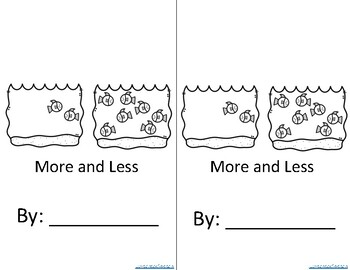 Basic Concepts More/Less Coloring Book with Bonus