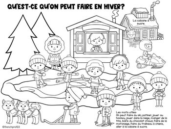 La Cabane à Sucre and Winter french themed speaking