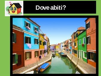 La Casa Italiana  The House Italian Vocabulary by Mama
