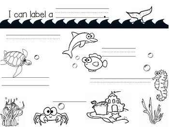 Labeling: A Kindergartener's First Step to Writing by