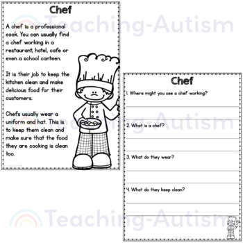 Labor Day Reading Comprehension Passages and Questions by