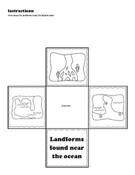 Landforms Interactive Notebook by Only Passionate