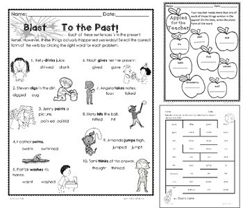 Language Arts Second Grade Printables BUNDLE by Rebecca
