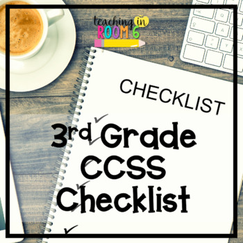 Language Arts Standards Mastery Checklist by Teaching in