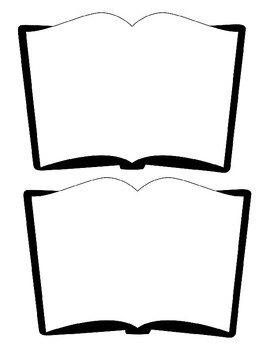 Blank Book Template Worksheets Teaching Resources Tpt