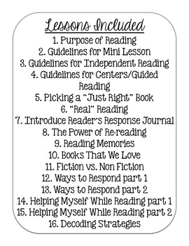 Launching Reader's Workshop {lower grades} by Ashley