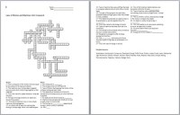 Newton's Laws of Motion and Simple Machines Crossword ...