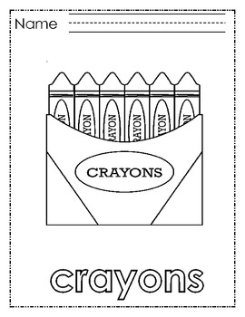 Learning Language coloring pages Back to School Newcomers