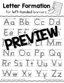 Left & Right-Handed Handwriting Bundle by This Reading