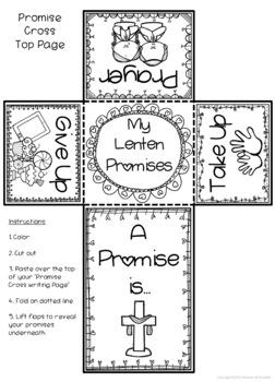Lent ~ Lenten Promise Cross ~ Easter by Ponder and