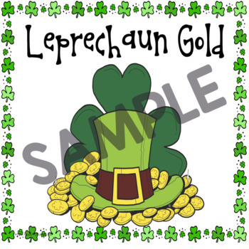 St. Patrick's Day Math Activities by First Grade Diva