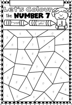 Let's Learn Numbers 1-10 No Prep Printables BUNDLE in QLD