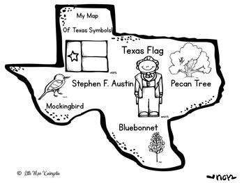 Let's Celebrate Texas Our Texas Print And Go! by Little