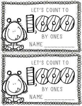 Let's Count: Counting to 1,000 by 1s, 2s, 5s, 10s and 100s