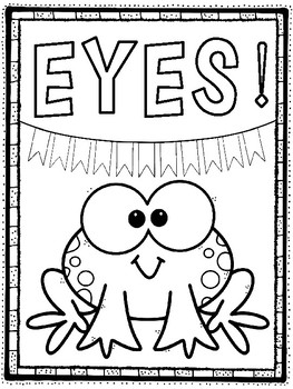 Coloring Pages: LETS FOCUS! Classroom Management by The