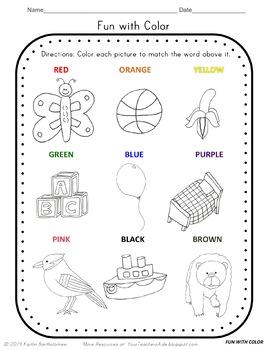 Letter B Math & Literacy Alphabet Activities NO PREP