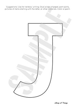 Letter Jj Worksheets Coloring Tracing Phonics Alphabet Dab