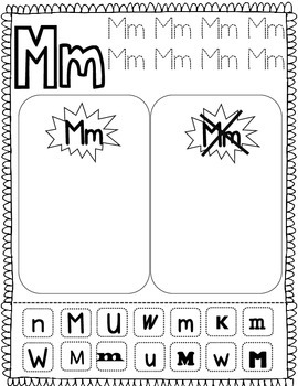 Letter Sorting Activity: Spanish Alphabet by Bilingual