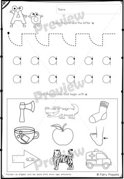 Letter of the Week {Alphabet Workbook} *NEW* by Fairy