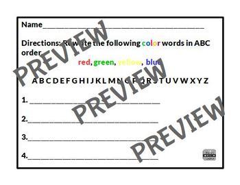 Library Skills Printable Worksheets for Kindergarten and