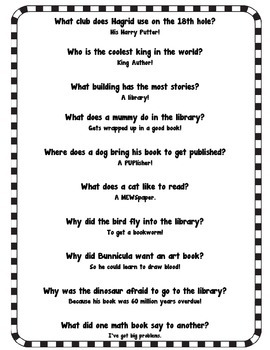 Back-To-School Library and Book Jokes to Tickle Your Funny