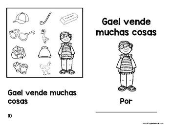 Libritos faciles Ga Go Gu (Emergent Reader Books Spanish