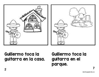Libritos faciles Gue Gui (Emergent Reader Books Spanish