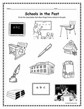 Past and Present: Transportation, Schools, Everyday