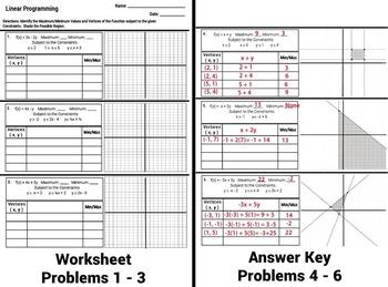 Golekwork: Solving Inequalities Worksheet With Answers Pdf