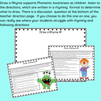 Following Directions Activities for K-1 by Sunshine and