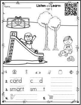 Listen and Learn Activities {R Controlled Vowels) by A