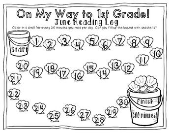 Literacy Summer Review Packet {Kindergarten} by Casey