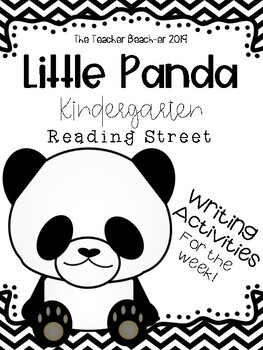 Little Panda- Writing Activities for the Week by The