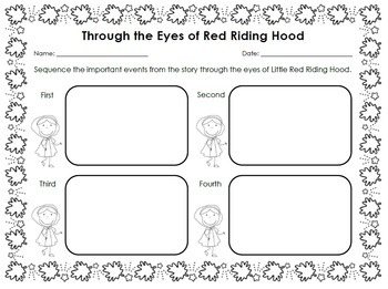 Little Red Riding Hood [Point of View] Reading Unit of
