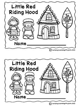 Little Red Riding Hood (Emergent Reader, Lap Book, Picture
