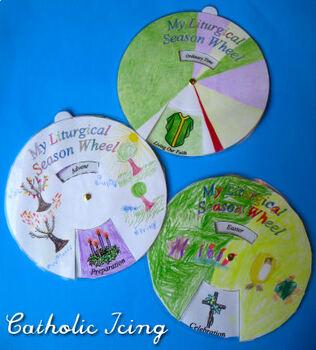 Liturgical Calendar: Printable Wheel Craft For Catholic