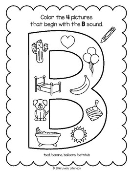 Lively Literacy Letter / Sound of the Week Phonics