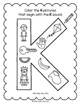 Lively Literacy Letter Sound Of The Week Phonics