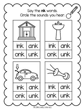 Lively Literacy Letter/Sound of the Week Phonics