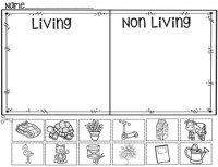 Living And Nonliving Things Worksheets