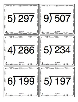 4th Grade Long Division: 4th Grade Math Activities Pack by