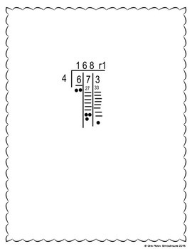 Long Division for Kids Who Can't Multiply by One Room