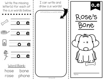 Long Vowel Brochures/Reading Comprehension Passages by