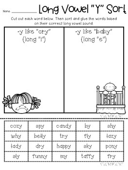 Words With Y As A Vowel : words, vowel, Vowel, Sort:, Beached, Teacher