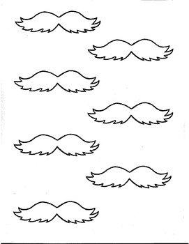 Lorax Mustache And Eyebrows : lorax, mustache, eyebrows, Lorax, Mustache, Worksheets, Teaching, Resources