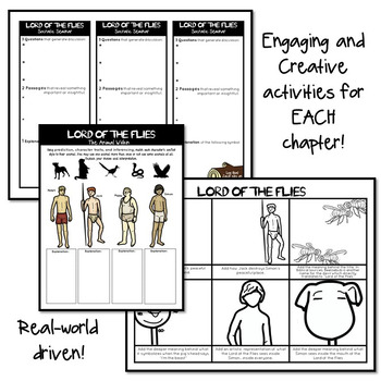 Lord of the Flies Unit Plan, Lord of the Flies Activities